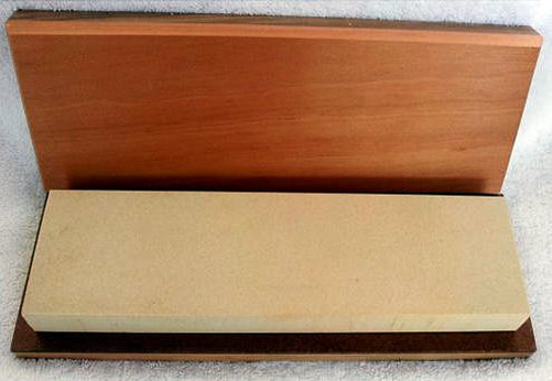 "10"" x 3"" x 1"" Arkansas (Hard 800 grit) Whetstone Knife Sharpening Stone / Box"